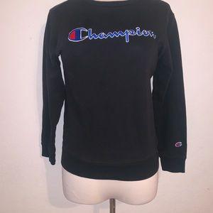 Black red blue sweatshirt s champion
